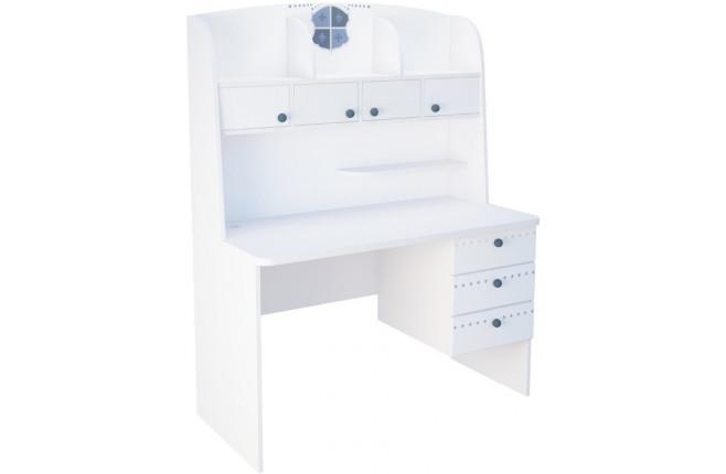 Стол письменный с надстройкой и дверками Шато