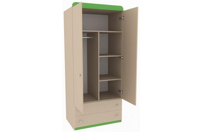 Шкаф двухдверный с ящиками Mon coure