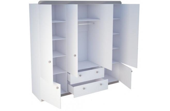 Шкаф шестидверный Шато