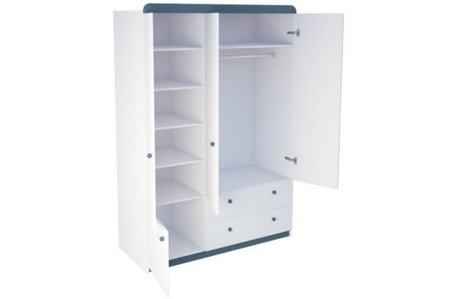 Шкаф четырехдверный Шато