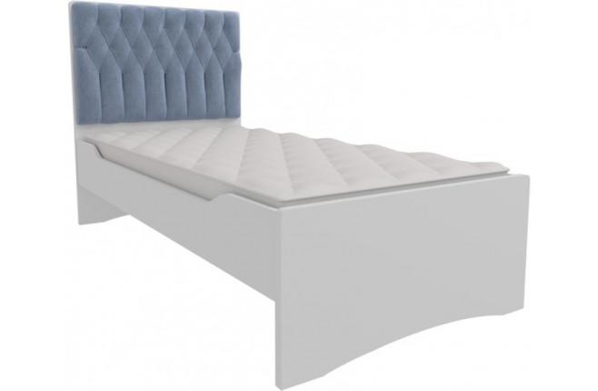 Кровать с мягким изголовьем Шато