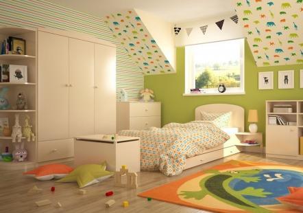 Детская мебель Ваниль