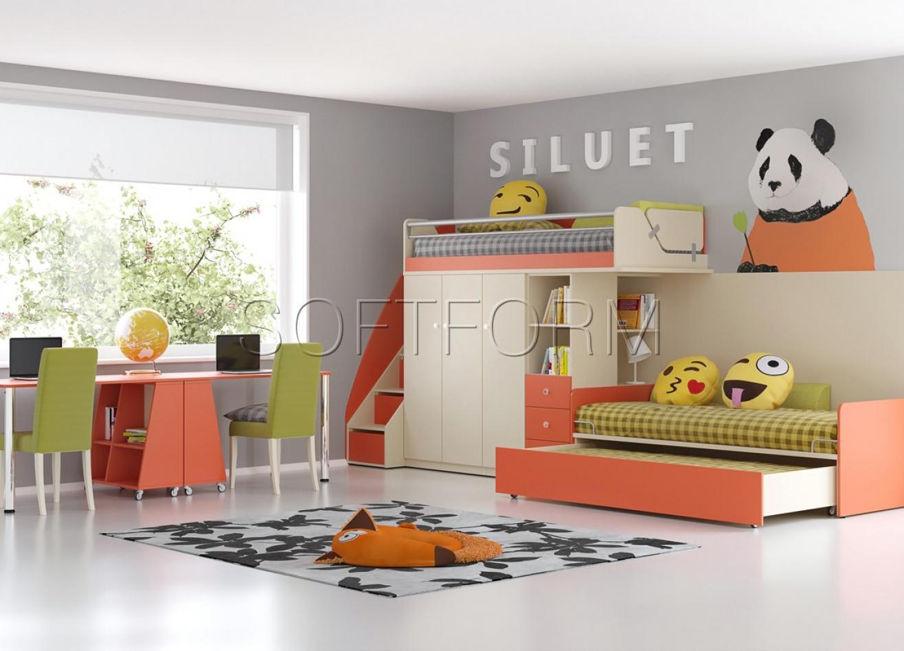 Коллекция детской мебели Силуэт