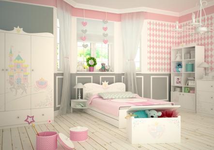 Детская мебель Принцесса (MEBLIK)