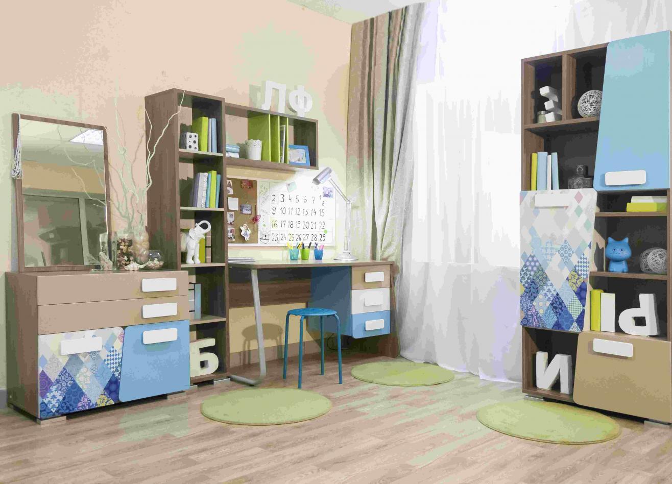 Коллекция детской мебели Slash Пэчворк