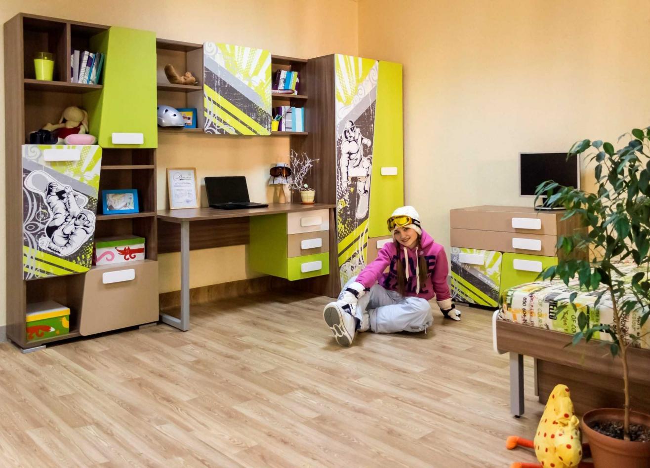 Коллекция детской мебели Slash Сноуборд