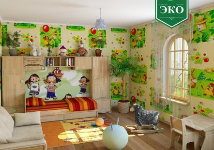 Детская мебель Акварель