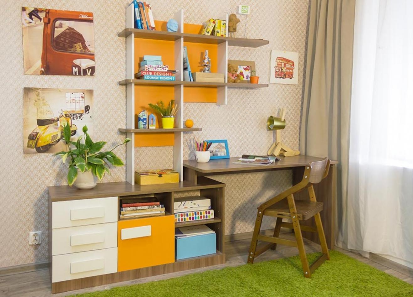 Коллекция детской мебели Пиксель