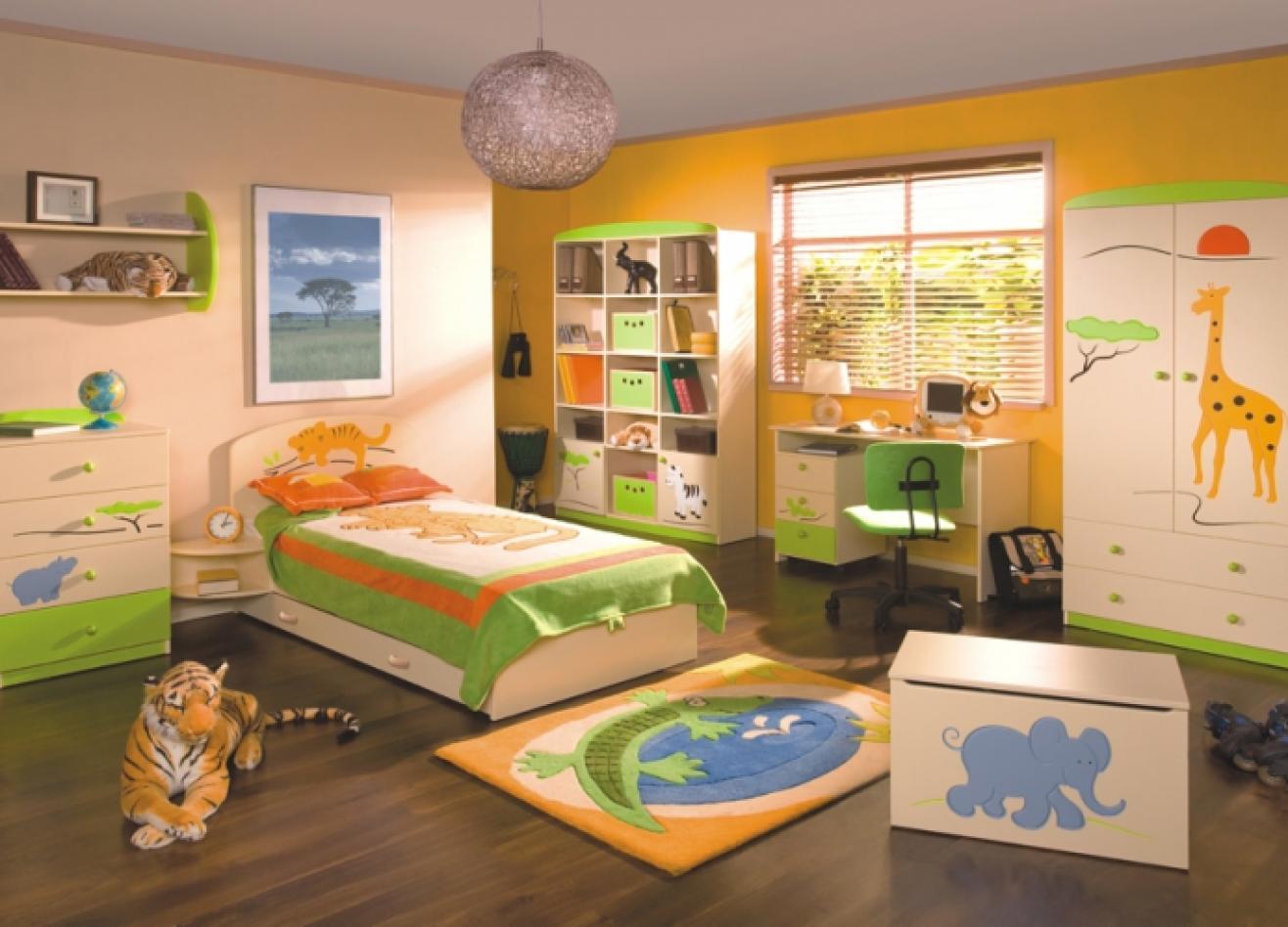 Коллекция детской мебели Саванна