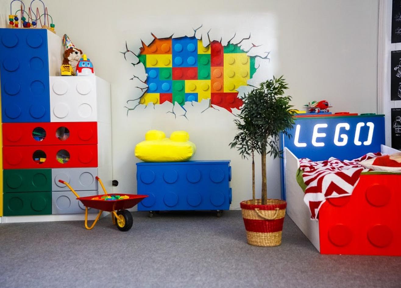 Коллекция детской мебели Леголэнд