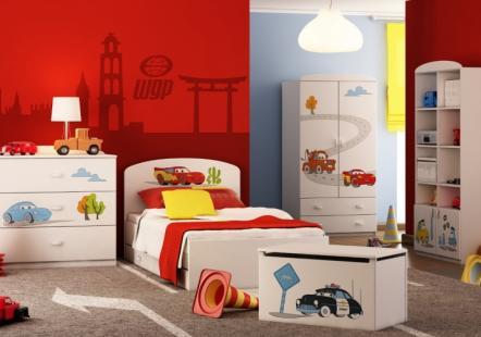 Детская мебель Тачки