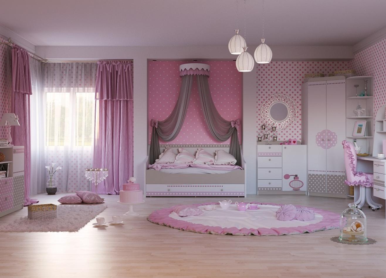 Коллекция детской мебели Mon coure