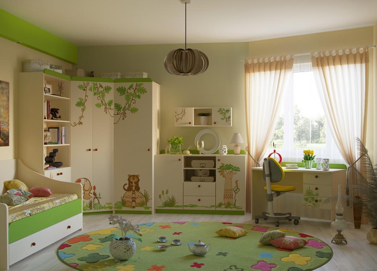Коллекция детской мебели Джунгли зовут