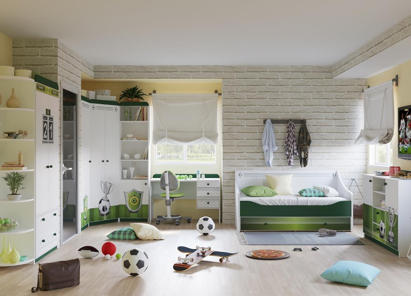 Коллекция детской мебели Футбол