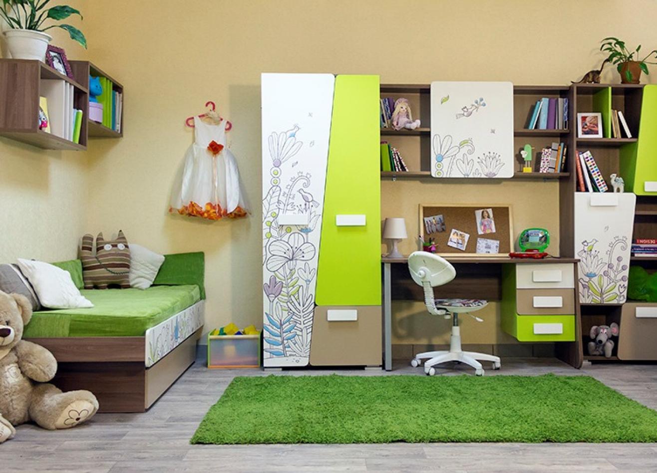 Коллекция детской мебели Slash Флора