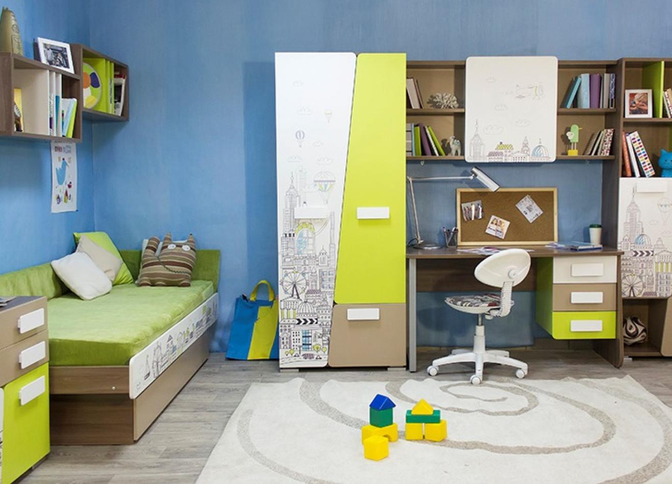Коллекция детской мебели Slash Город