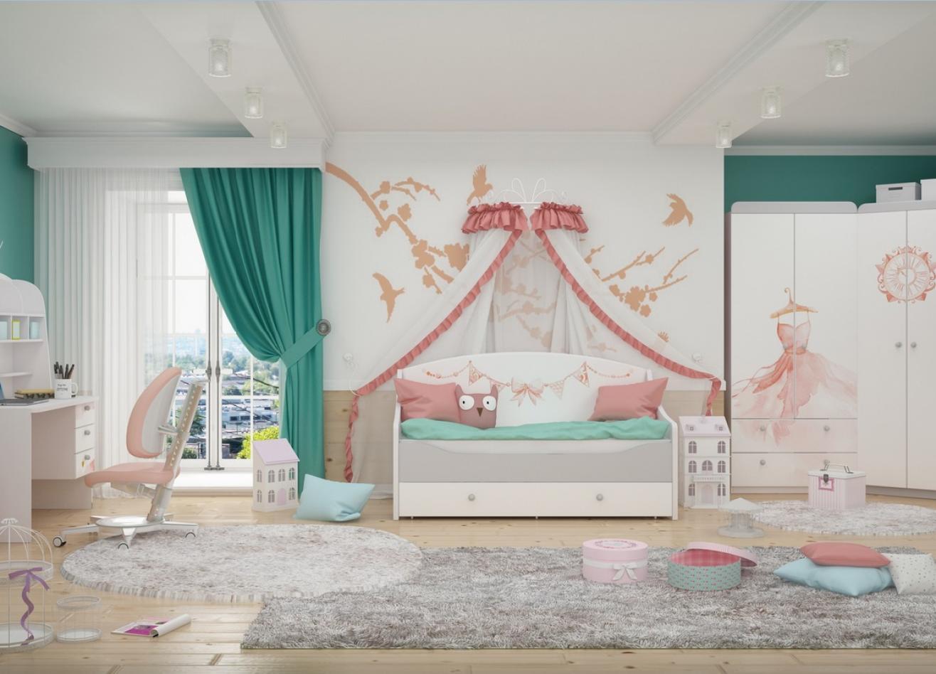 Коллекция детской мебели Lа Princess