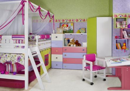 Детская мебель Фисташковая роза
