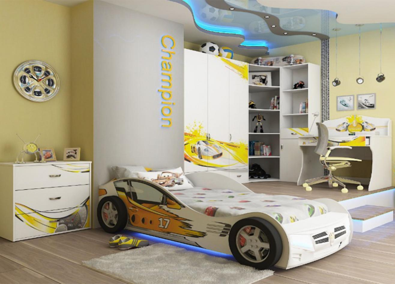 Коллекция детской мебели Champion белый