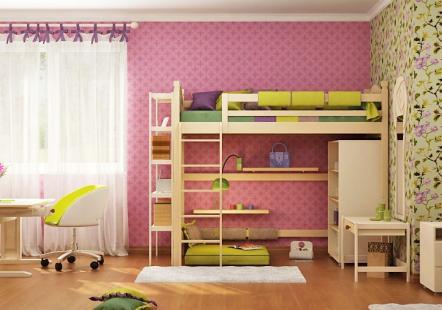 Детская мебель Ветер Прованса