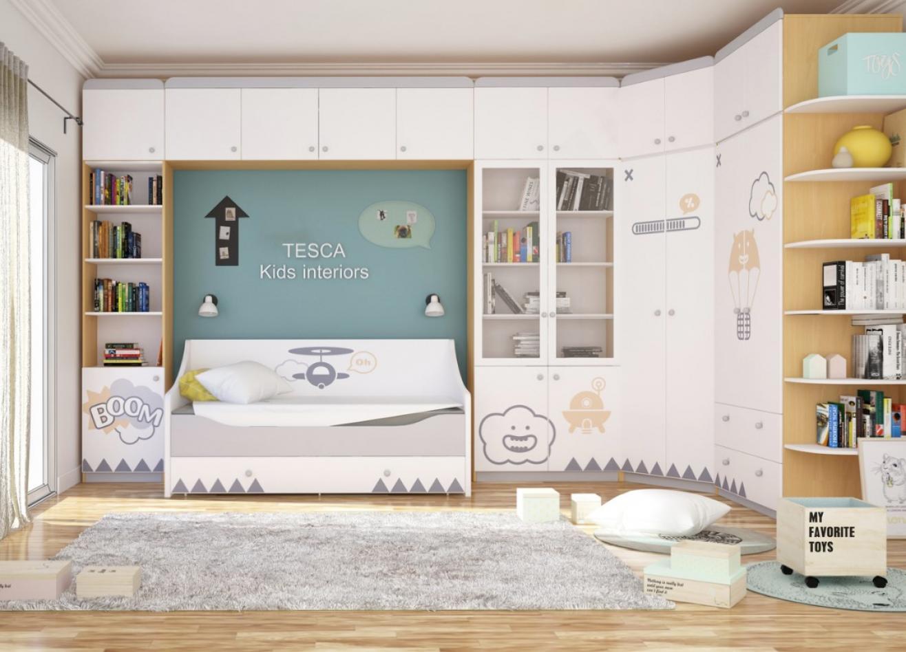 Коллекция детской мебели New Age Orange