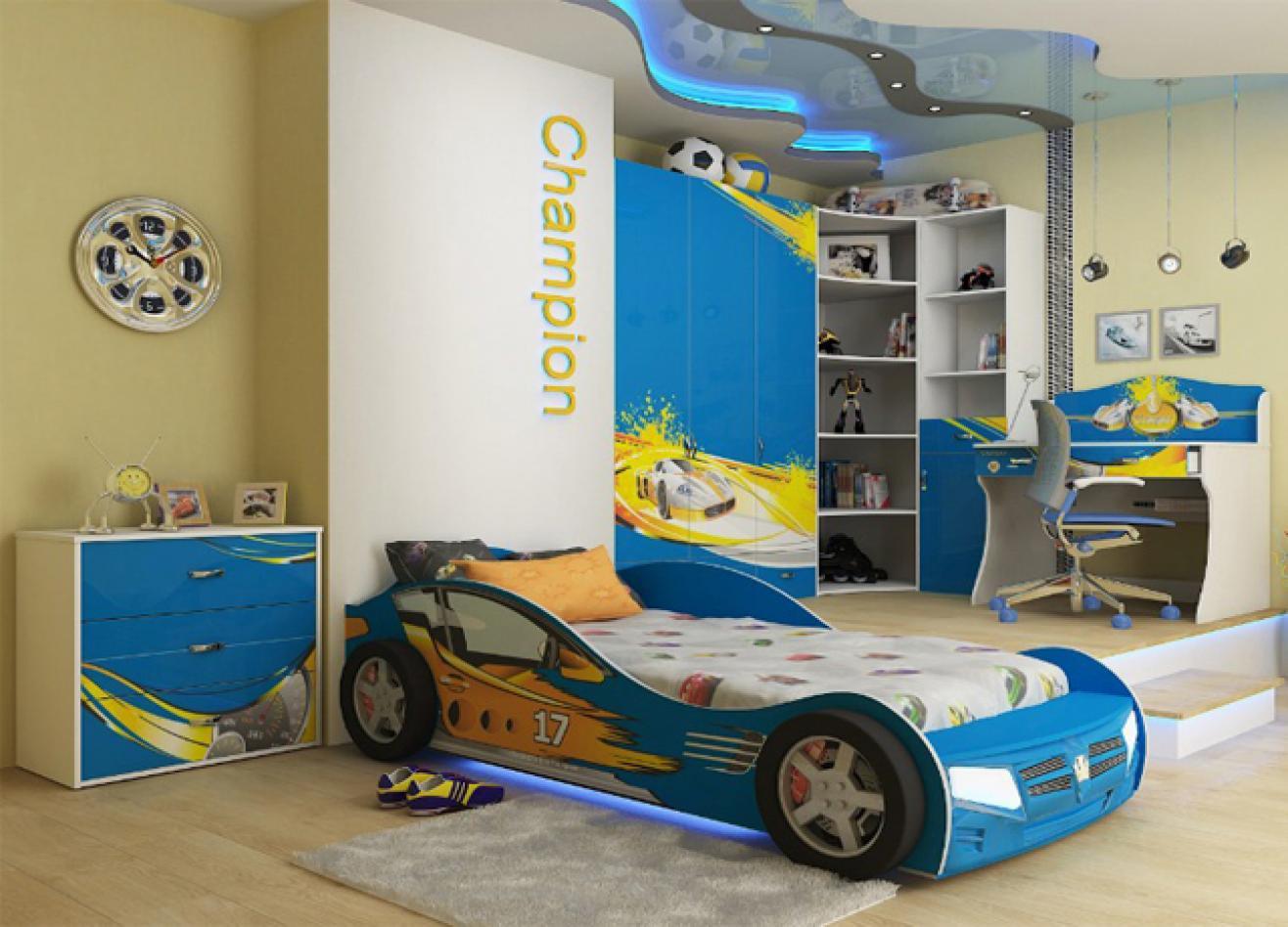 Коллекция детской мебели Champion синий