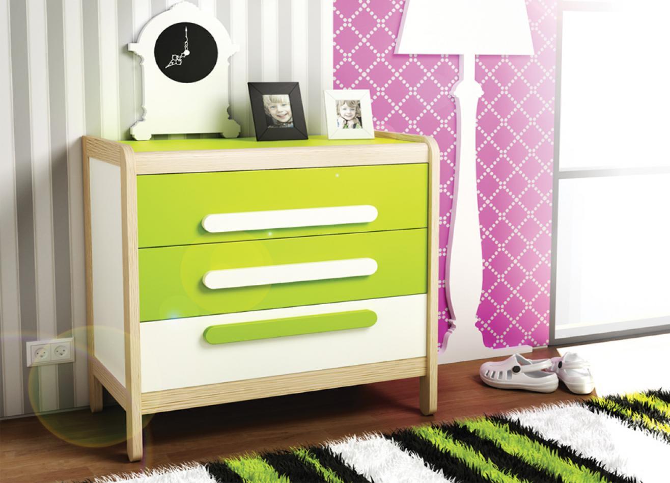 Коллекция детской мебели Simple светлая