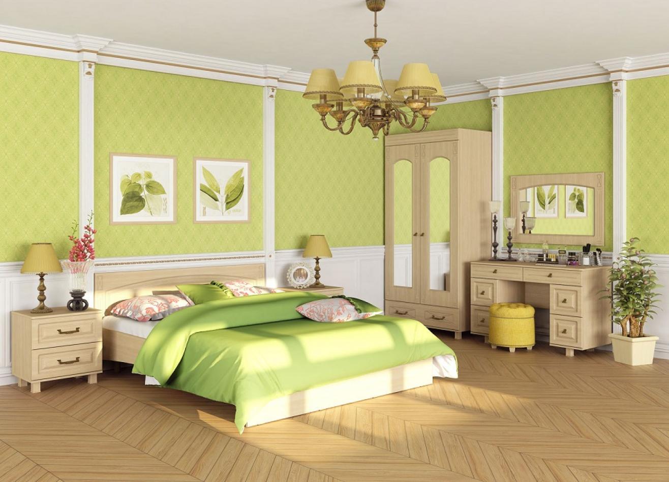 Коллекция детской мебели Элизабет светлая