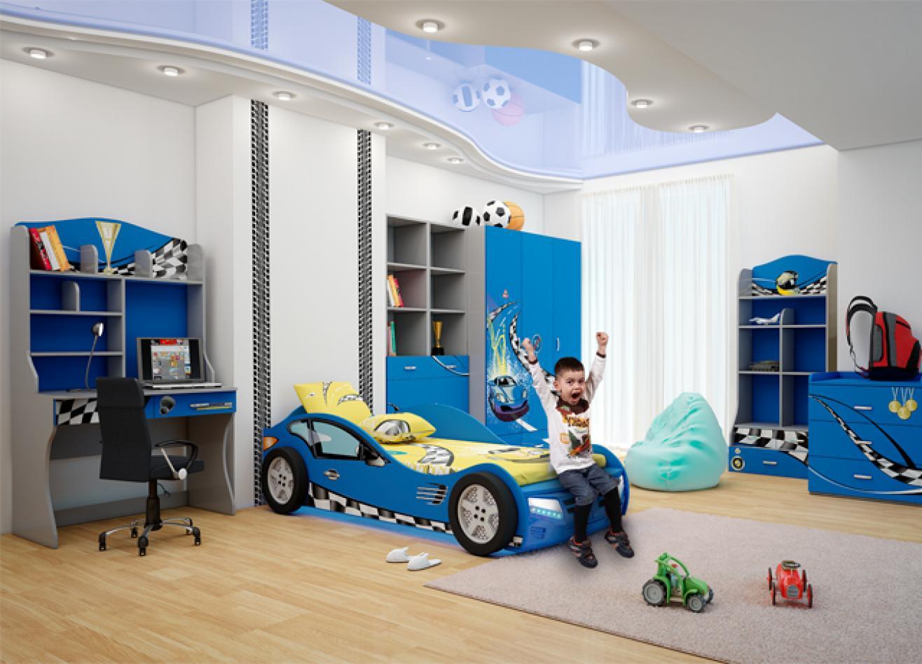 Коллекция детской мебели Formula синий