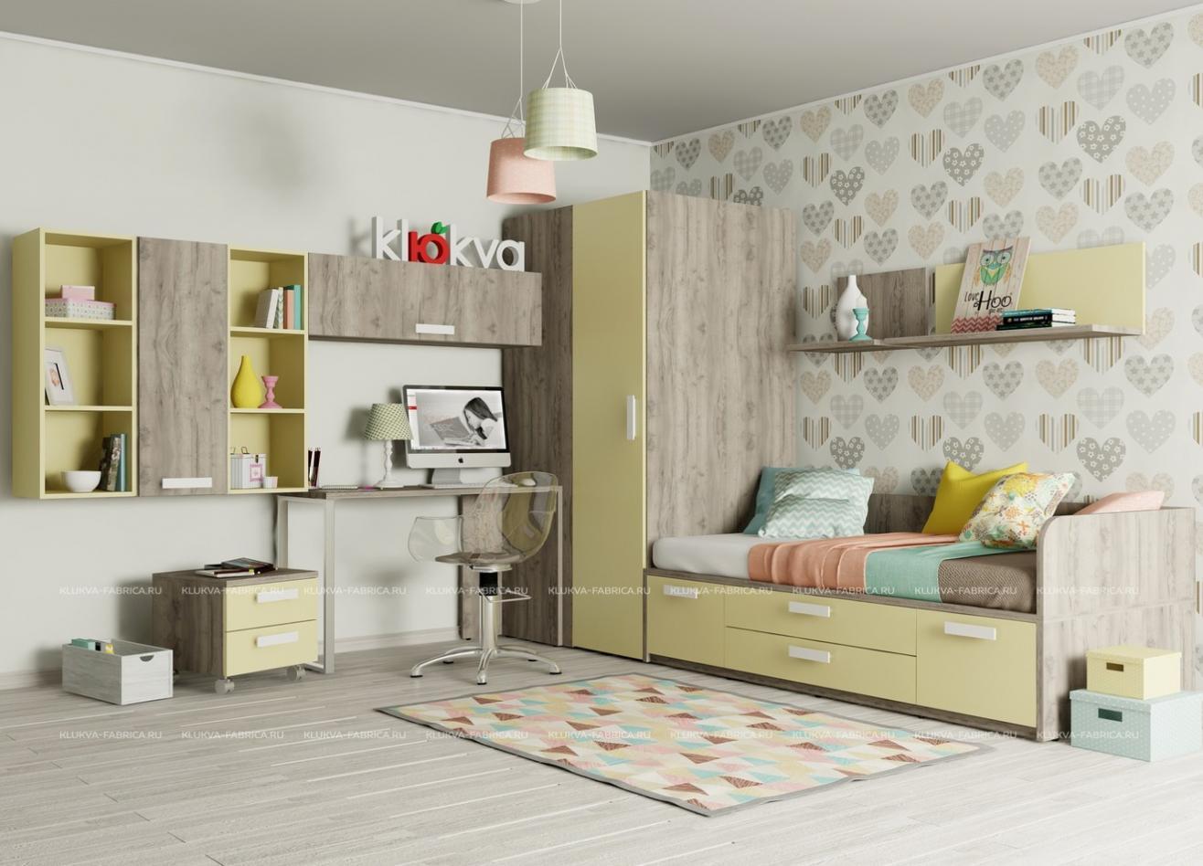 Коллекция детской мебели Junior Dakar