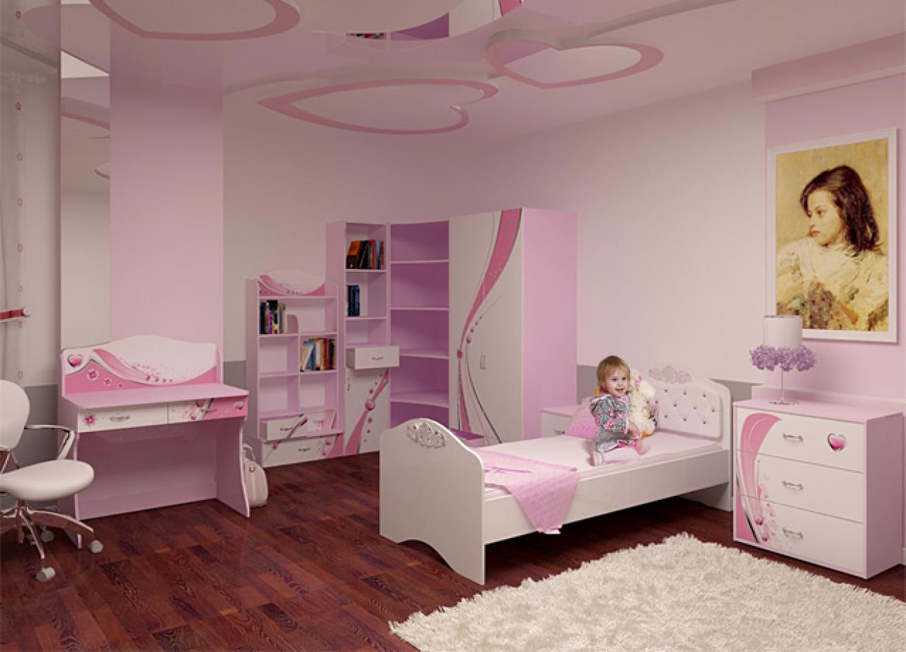 Коллекция детской мебели Princess