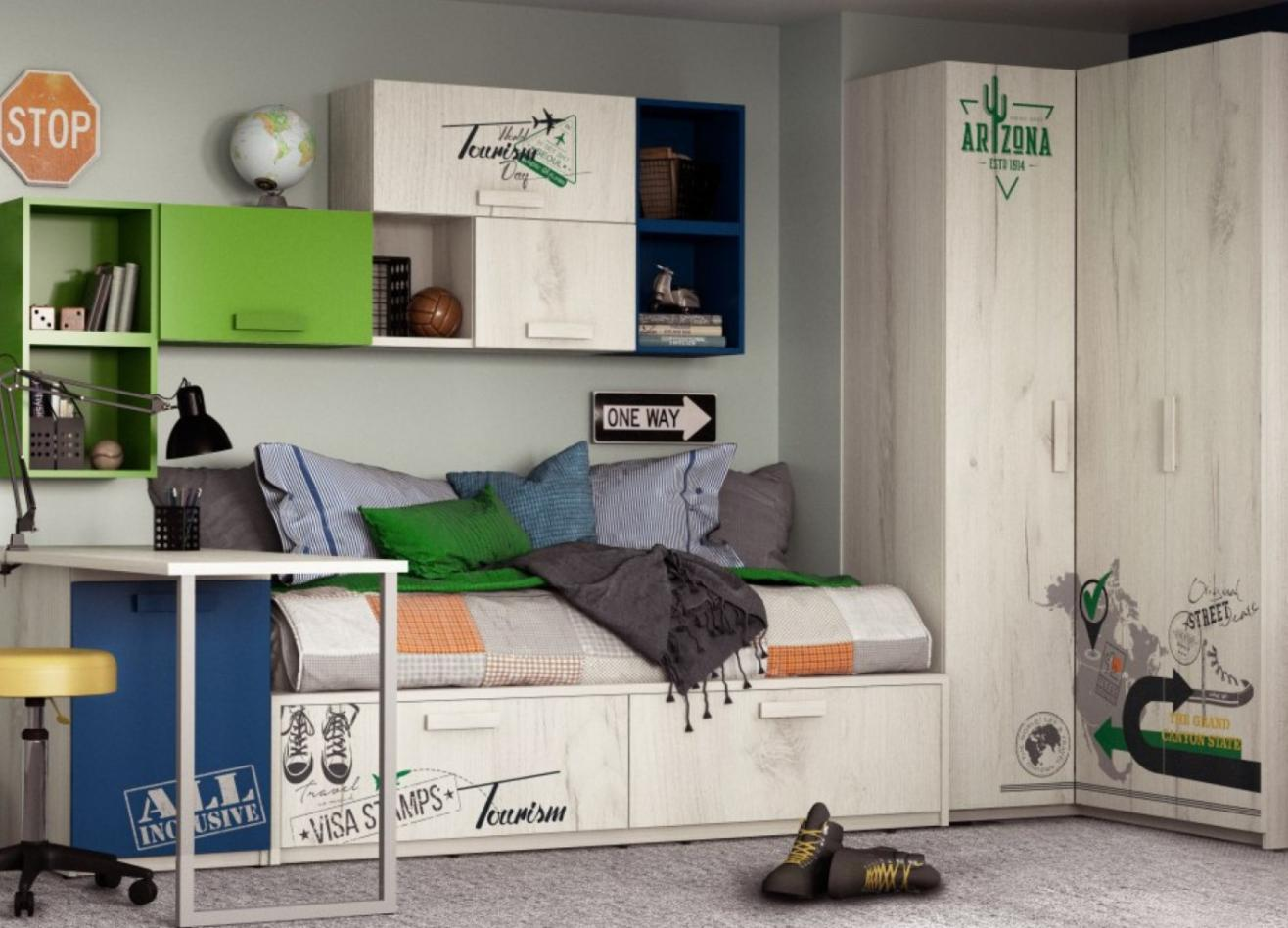 Коллекция детской мебели Junior Travel