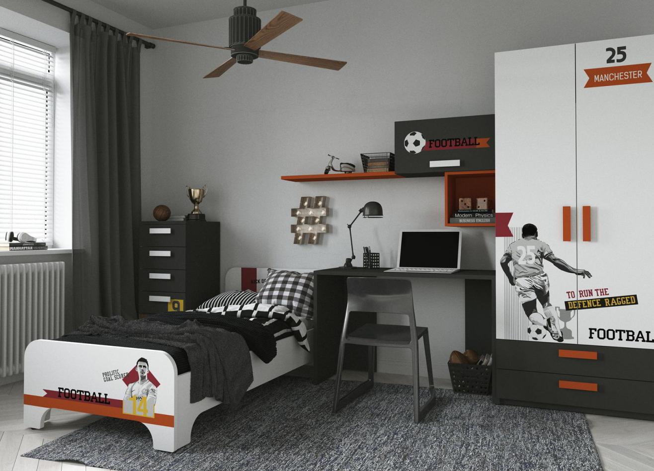 Коллекция детской мебели Junior Football