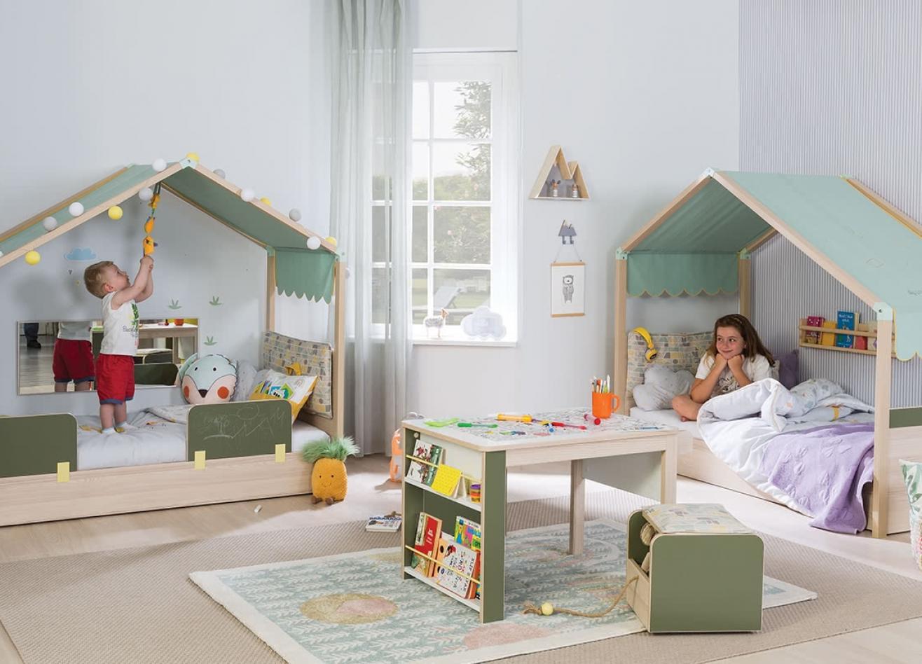 Коллекция детской мебели Montes