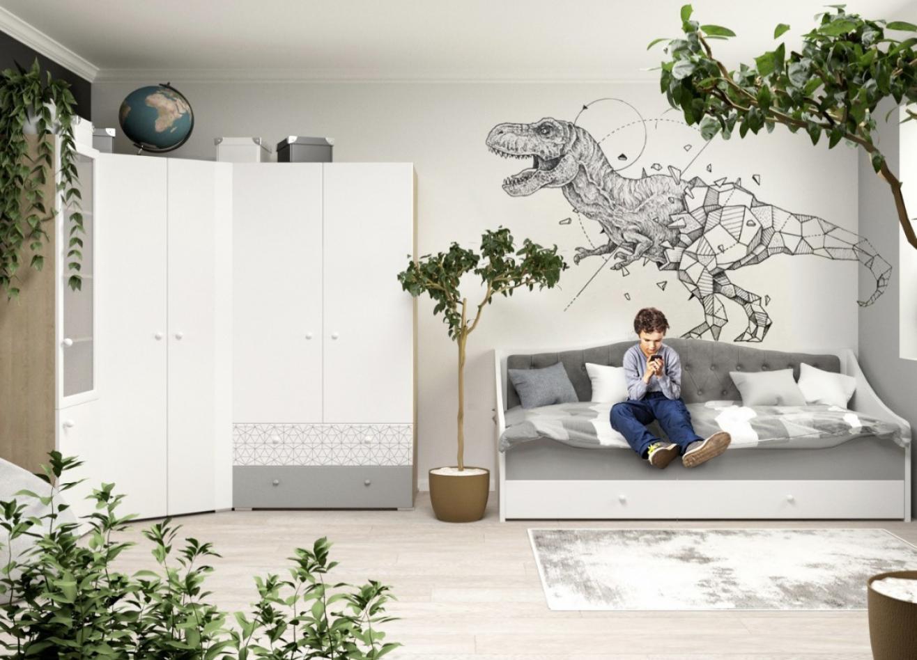 Коллекция детской мебели Flash Grey